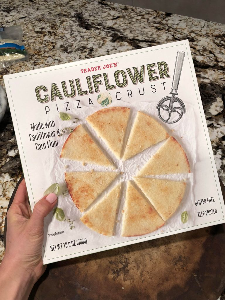 Trader Joe's Cauliflower Crust | CookItHealthier.com