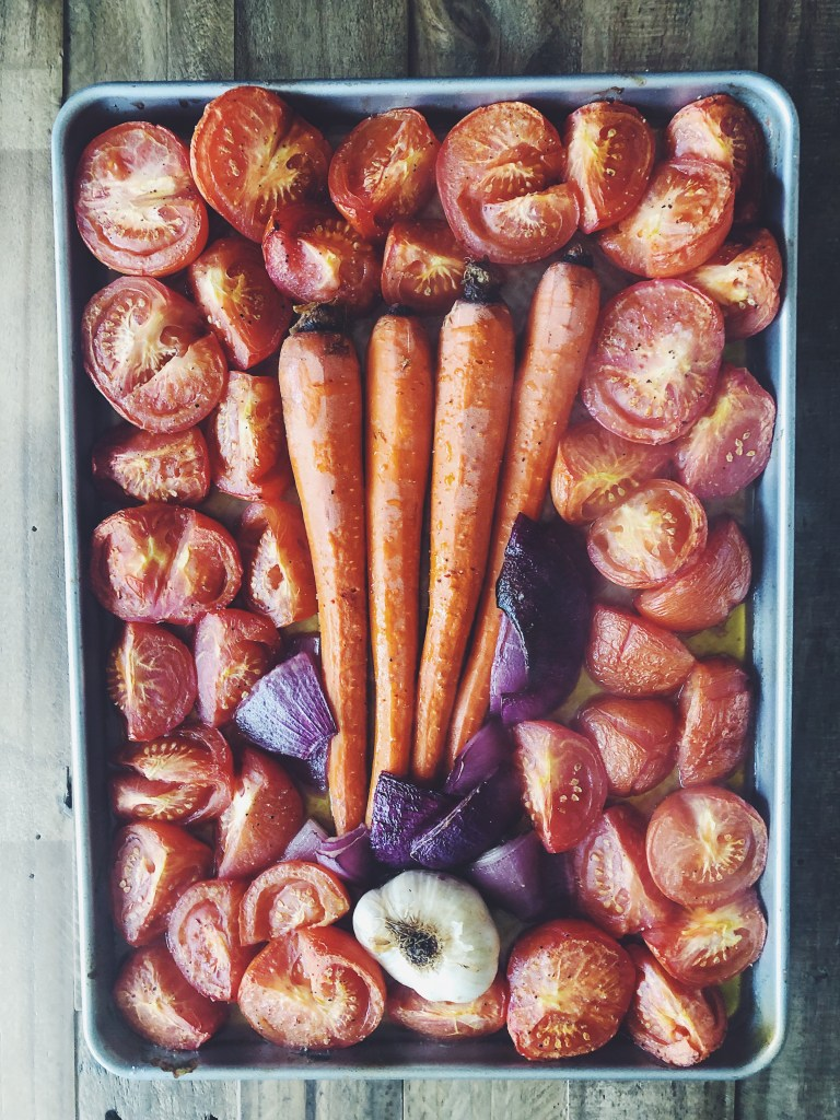 RECIPE | Creamy Roasted Tomato-Basil Soup | CookItHealthier.com