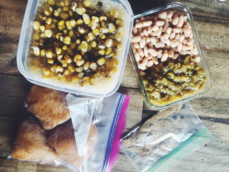 RECIPE | Skinny White Chicken Chili Meal Kit | CookItHealthier.com