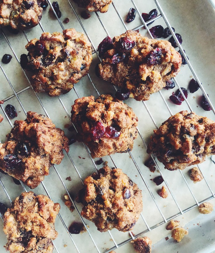 RECIPE   Healthier Holiday Fruit & Nut Cookies   CookItHealthier.com