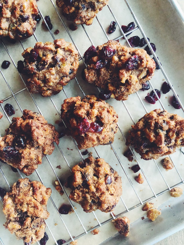 RECIPE | Healthier Holiday Fruit & Nut Cookies | CookItHealthier.com