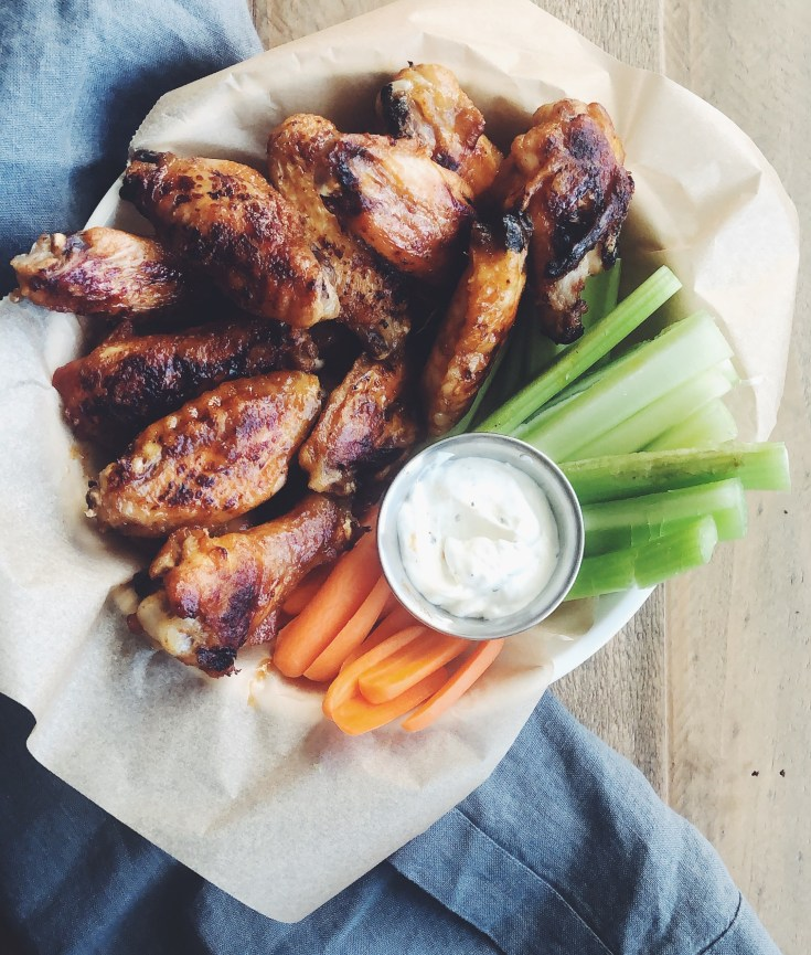 Recipe | Whole30 Baked Buffalo Wings | cookithealthier.com
