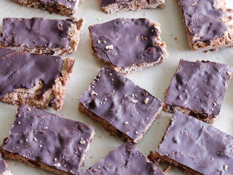 RECIPE   Dark Chocolate Keto Cookie Bars   cookithealthier.com