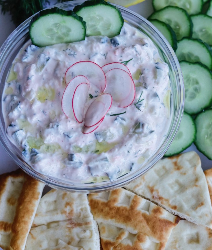 RECIPE | Greek Tzatziki Sauce | Cookithealthier.com