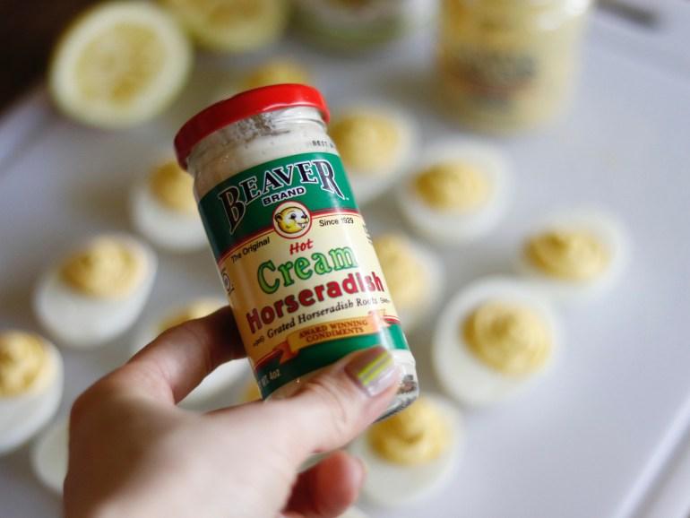 Recipe | Horseradish Deviled Eggs | cookithealthier.com