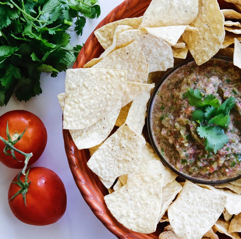 Recipe | San Antonio Homemade Salsa | cookithealthier.com