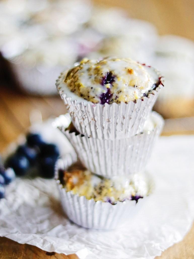 Recipe | Lemon, Blueberry Poppyseed Muffins | cookithealthier.com