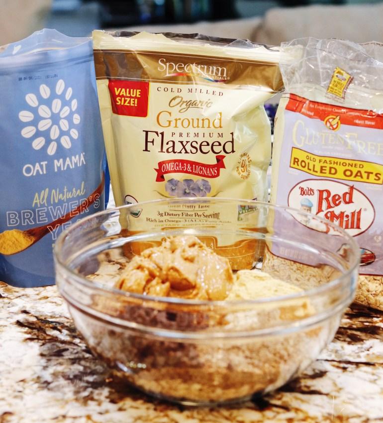 Recipe   Peanut Butter Chocolate Chip No-Bake Lactation Balls   cookithealthier.com