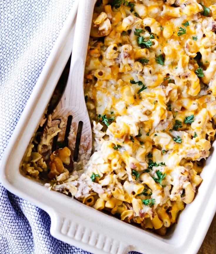 RECIPE | Healthier Tuna Noodle Casserole | cookithealthier.com