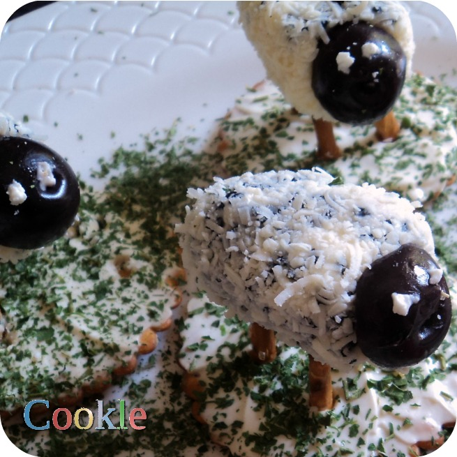 Cheesy προβατάκια https://cookleit.wordpress.com/2014/04/15/cheesy-lambs/
