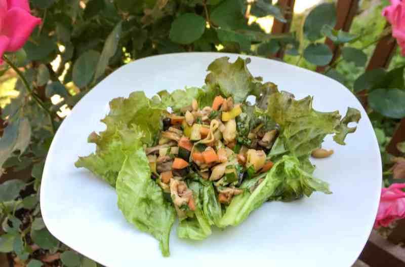 Vietnamese Mushroom Lettuce Wraps • Cook Love Heal with Rachel Zierzow