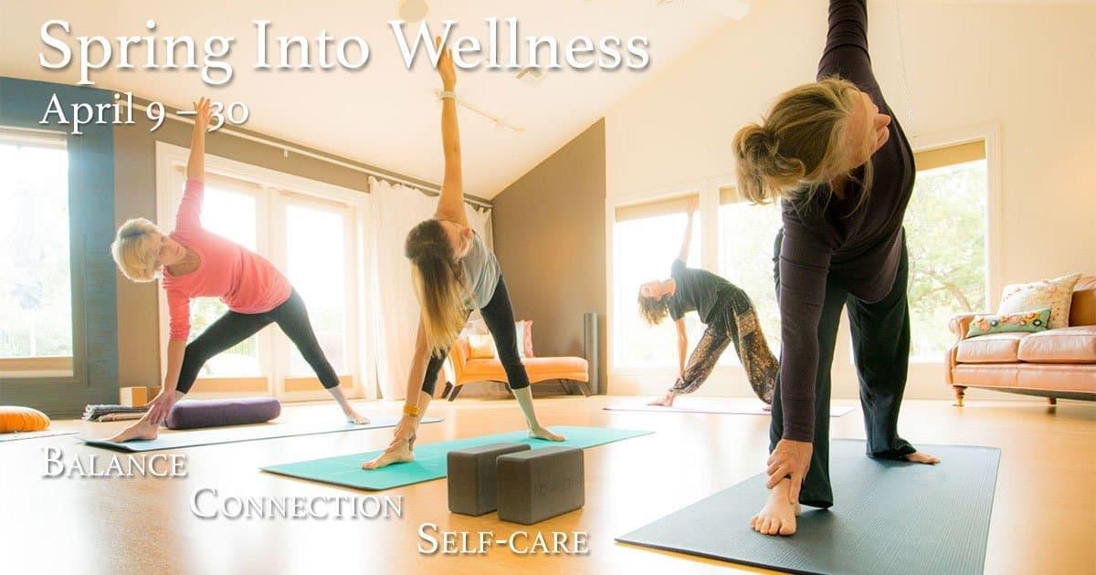 spring into wellness cover photo