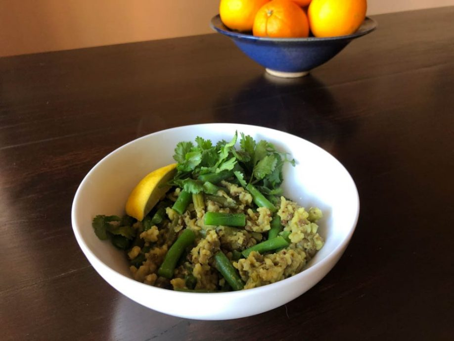 French Lentil and Green Bean Kitchari • Cook Love Heal by Rachel Zierzow