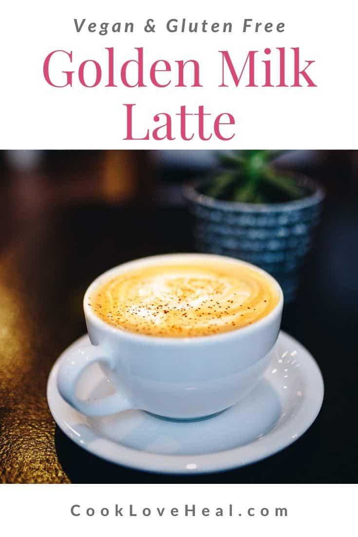 Golden Milk Latte •Cook Love Heal by Rachel Zierzow