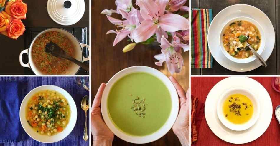 Nourishing Plant-Based Soups •Cook Love Heal by Rachel Zierzow