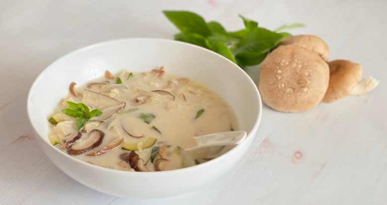 Tom Kha Thai Coconut Soup