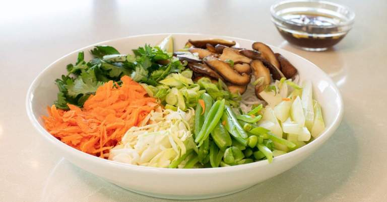 Vietnamese Vermicelli Noodle Bowls with Shiitake •Cook Love Heal by Rachel Zierzow