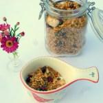 Low FODMAP granola recipe