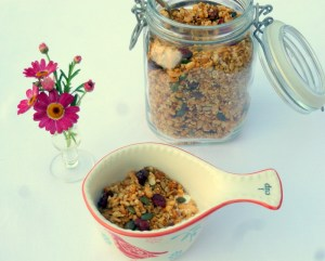 Low FODMAP granola recipe