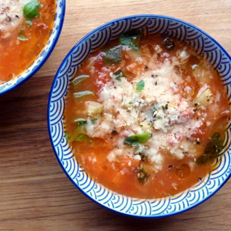 Low FODMAP, soup recipe