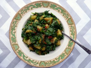 Low FODMAP Saag Aloo