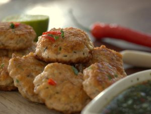 Low FODMAP Thai Salmon Fishcakes