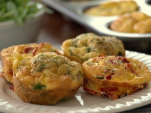 Low FODMAP Mini Frittatas