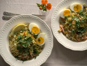 Low FODMAP Smoked Salmon Kedgeree