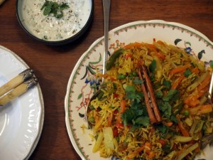 Low FODMAP Vegetable Biryani