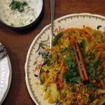 Low FODMAP, Vegetarian Biryani