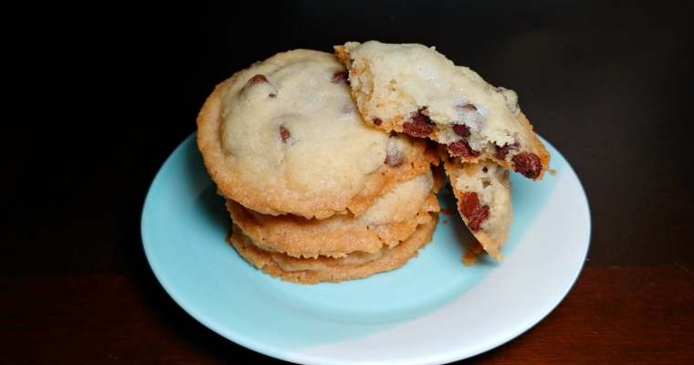 Sweet & Salty CHOCOLATE CHIP COOKIE:)