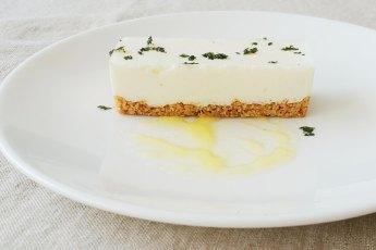 Japanese tofu cheese cake