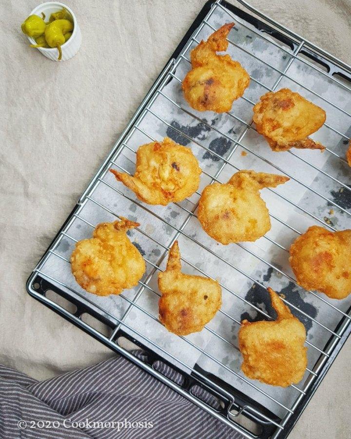 bonchon style crispy chicken wings