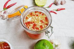 chili garlic fish sauce dipping sauce