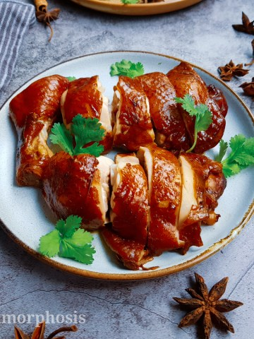 Soya sauce chicken
