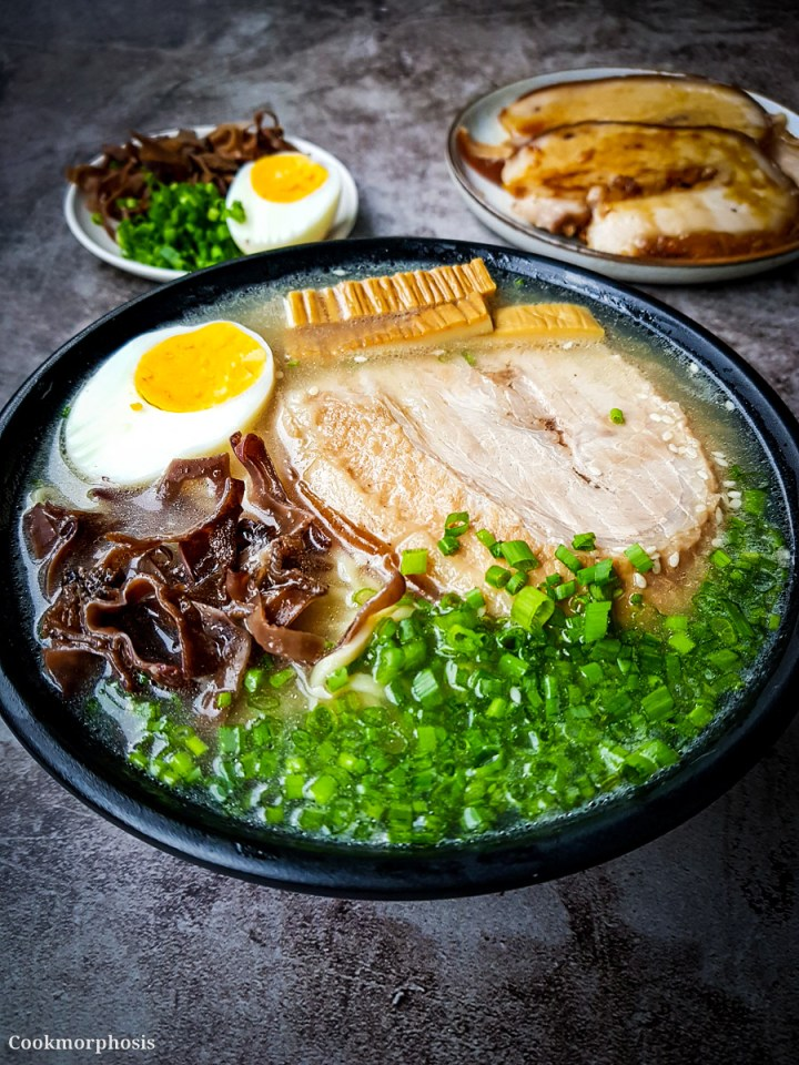how to make the best Japanese tonkotsu ramen from scratch
