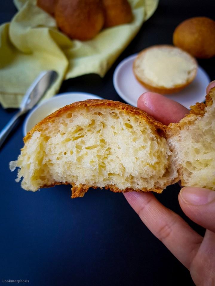 butter parker house rolls recipe