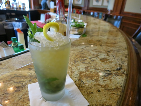 The Bourbon Julep was born here at the Round Robin Bar in the Willard Hotel, Washington DC