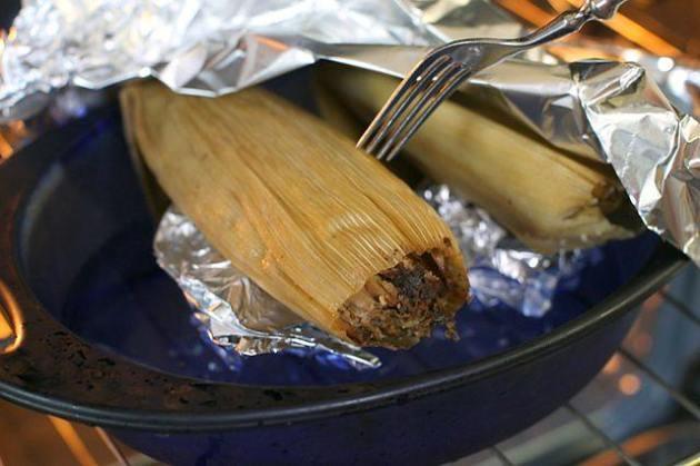 Heat the Tamales