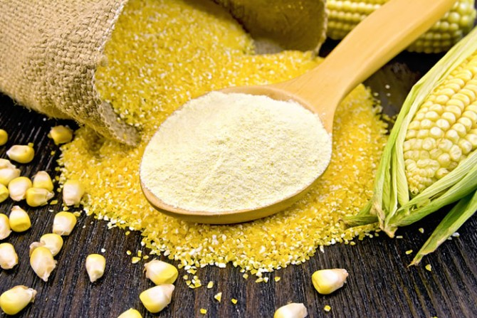 Corn Flour and Corn Starch Differ in Their Uses