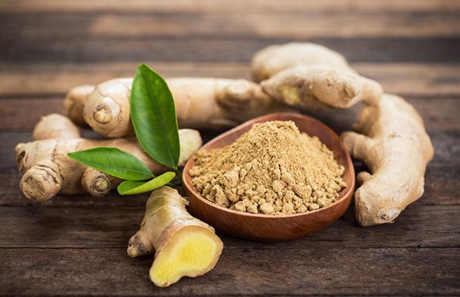 Horseradish Substitute - ginger