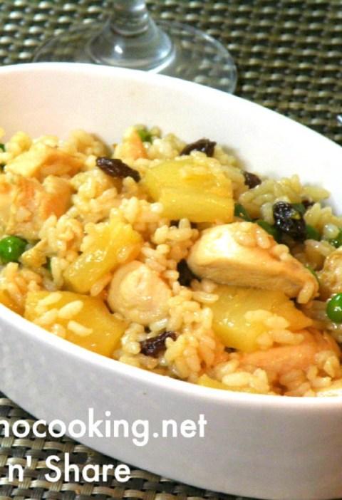 chicken pineapple rice
