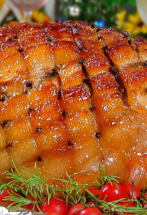 Honey Glazed Roast Pork