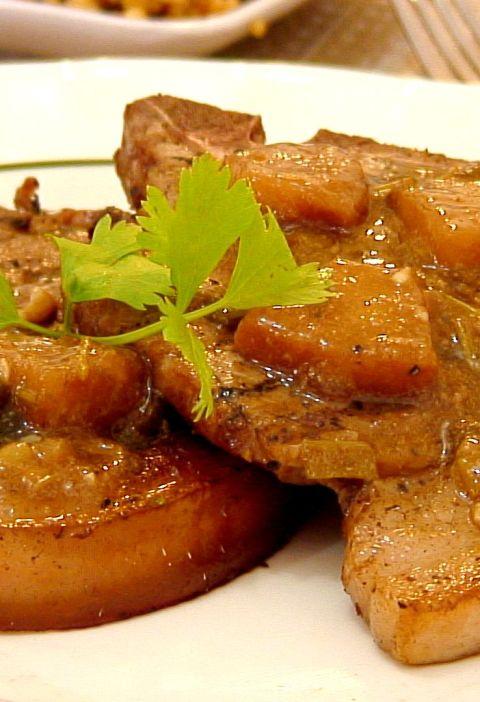 Grille Pineapple Porkchop