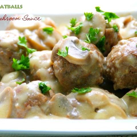 creamy mushroom sauce