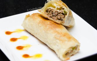 puff-pastry-mince-roll