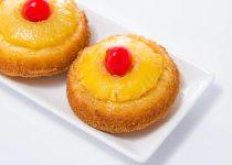 کیک آناناس فنجانی | Mini Pineapple Cakes