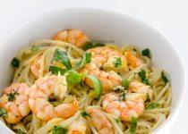 اسپاگتی با میگو | Shrimps and Spaghetti