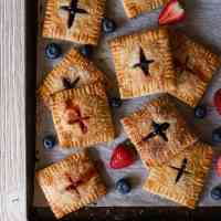 Strawberry and Blueberry Hand Pies