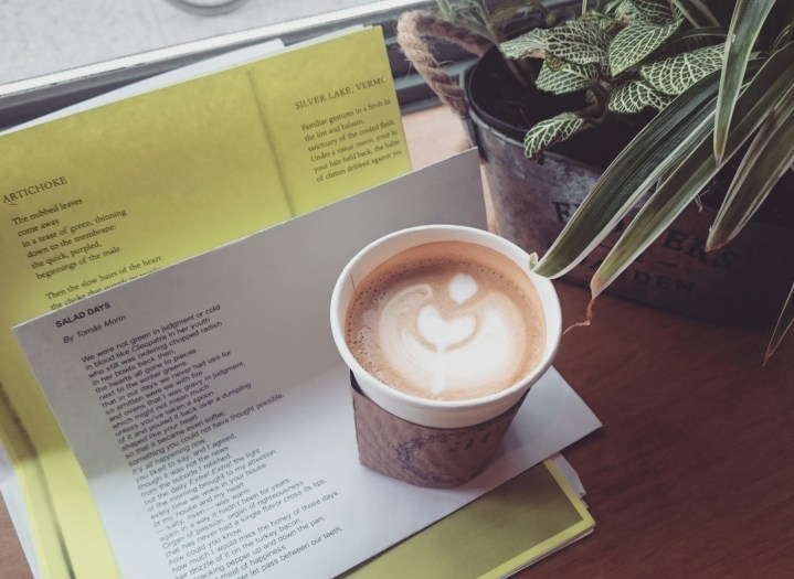 Poetry & Coffee Picnic: 8/21/16